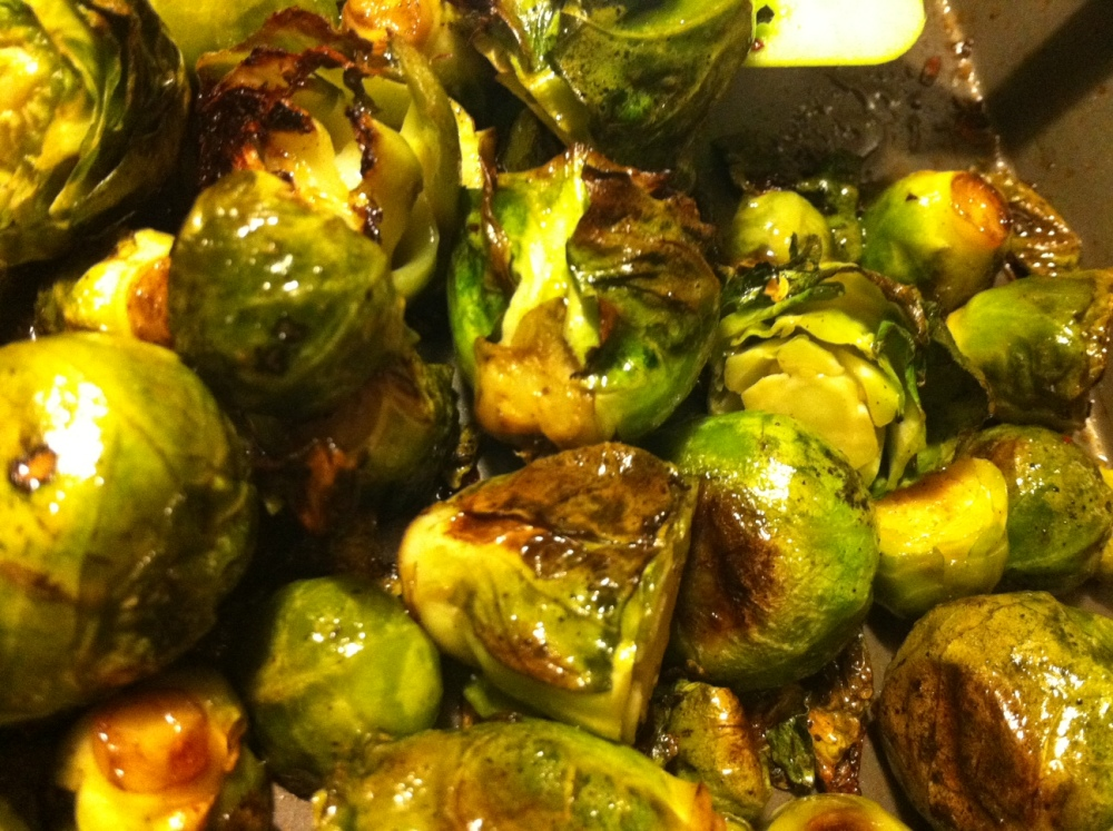 Brussels Sprouts Gratin & Maple-Cayenne Roasted Brussels Sprouts (1/6)