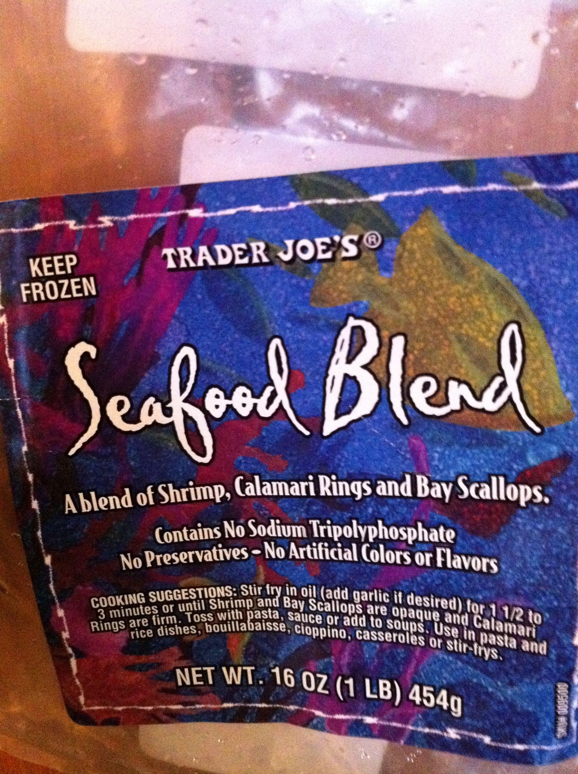 Trader joe 39 s seafood medley recipe for Trader joe s fish