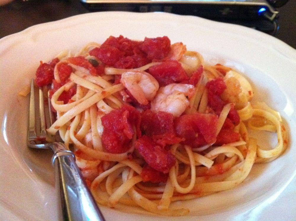 Seafood Pasta Bake (1/6)