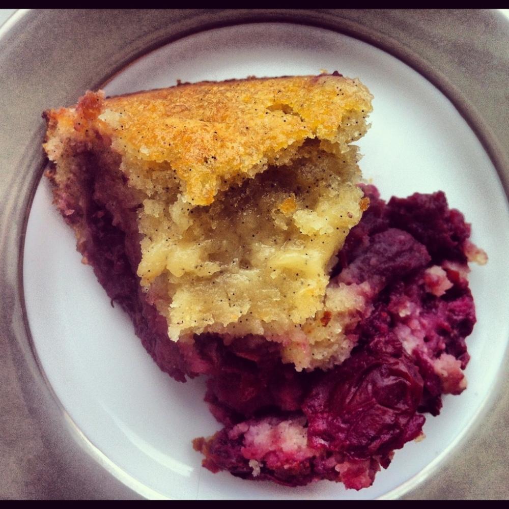 Cherry Vanilla Upside-Down Cake (6/6)