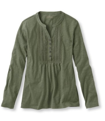 A super comfy and stylish henley from LL Bean.