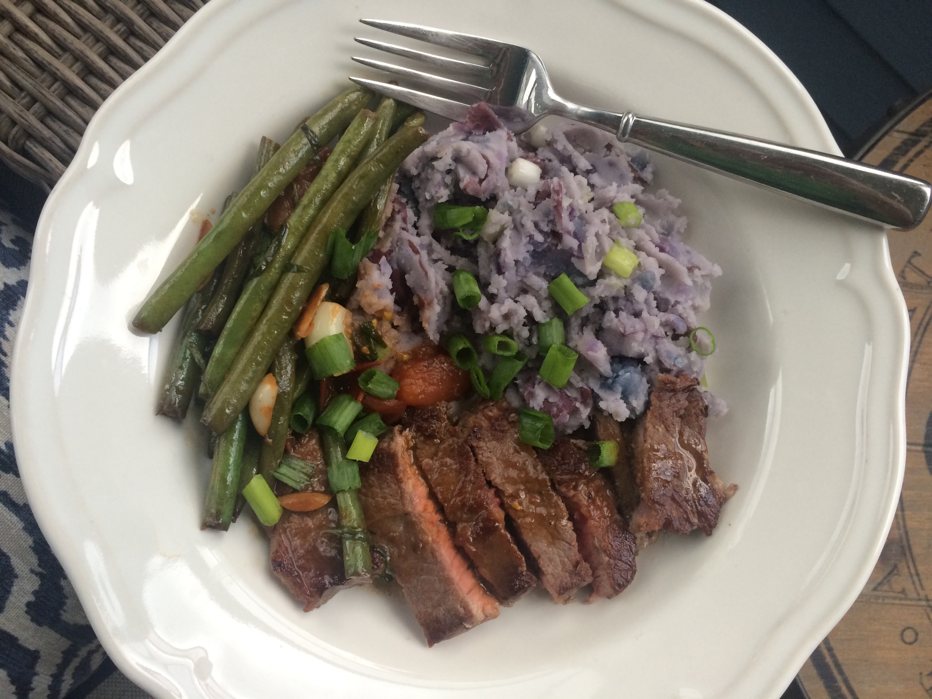Blue apron meat